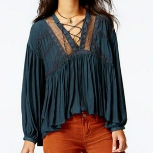 Free People Don't let go blouse. H10